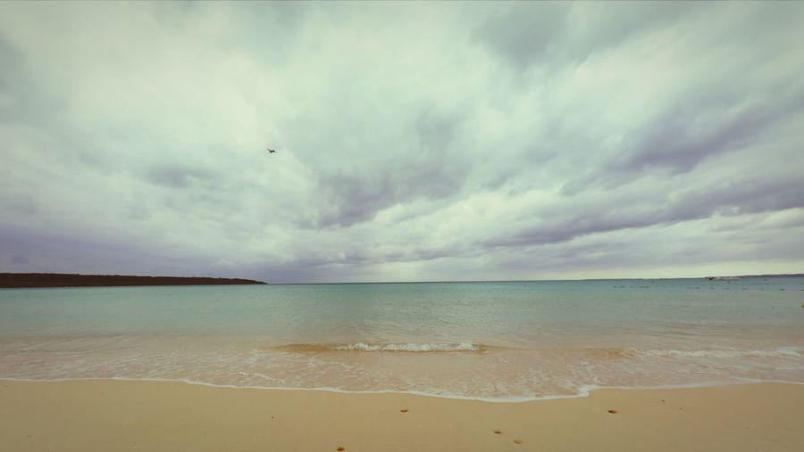 沖縄 Miyakojima Airplane Ckouds Clkufded Beach Sea Sand Sky Dramatic Sky Cloud - Sky Landscape Scenics Nature Water No People Outdoors Vacations Day Travel Destinations Horizon Over Water Flying Backgrounds Beauty In Nature