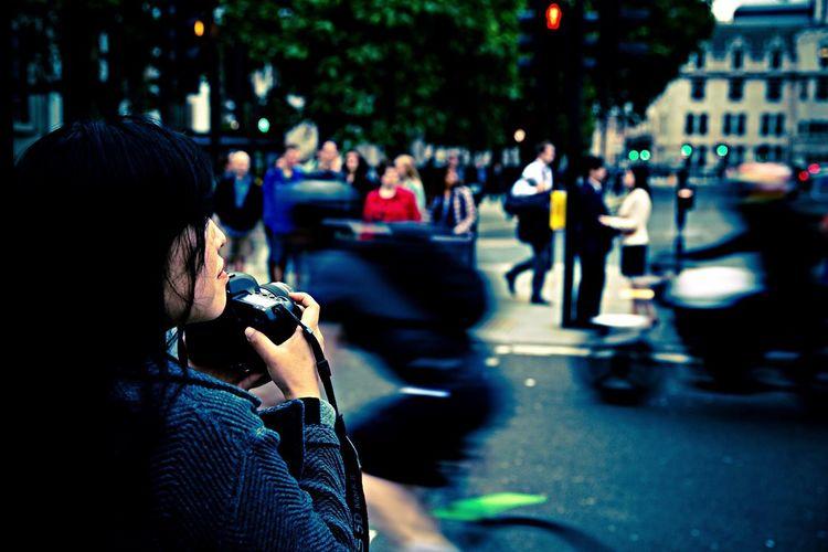 Taking Photos Photographer London Shoot