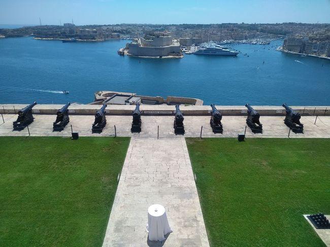 Vittoriosa Architecture Birgu Built Structure Cannon History Nautical Vessel Transportation Travel Travel Destinations Valletta Water