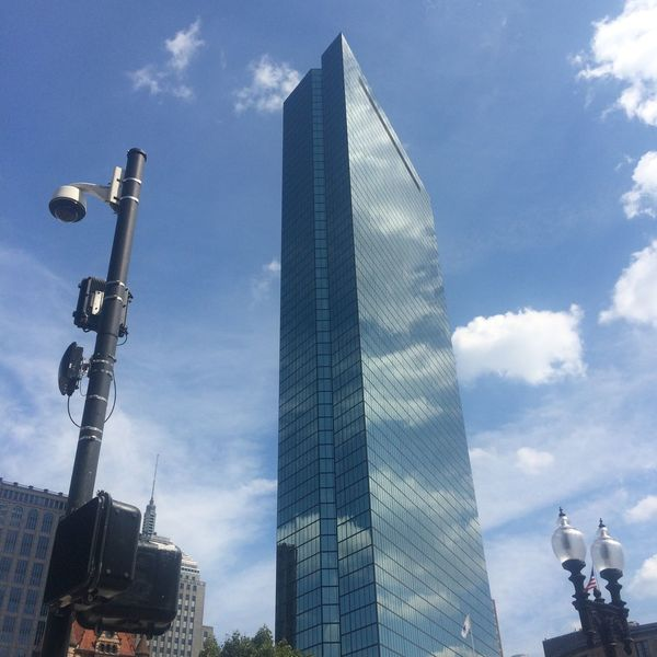 Architecture Boston Building Exterior Built Structure City Cloud - Sky Day Glass Low Angle View No People Outdoors Reflection Reflections Sky Skyline Skyscraper Urban Mobility In Mega Cities The Architect - 2018 EyeEm Awards Summer In The City