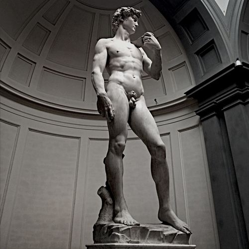 Florence Italy Michaelangelo The David Sculpture The world-famous David!