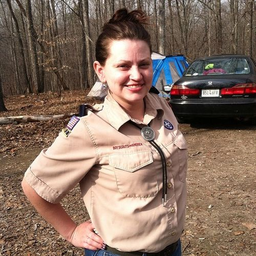 Hottest Scout Leader that ever were...Pack24 Cubscouts Smashingjean Arrowoflight