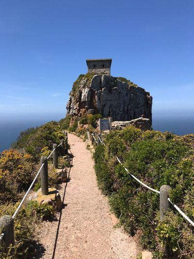 Cape Point Sky Architecture Built Structure Nature Plant History Sunlight
