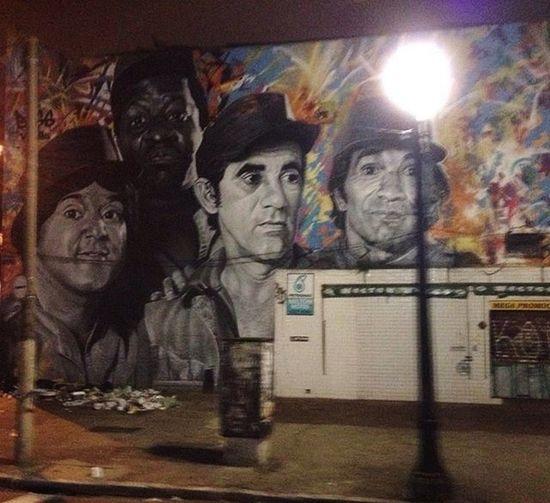 Avenida Rio Branco Sampa Graffiti
