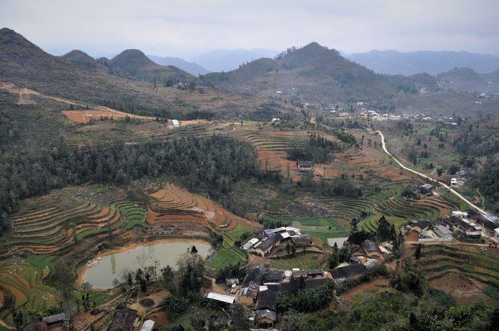 Villages Landscape Vietnam Lûng Cû Hà Giang Nature Adventure Nature Beauty Scenery
