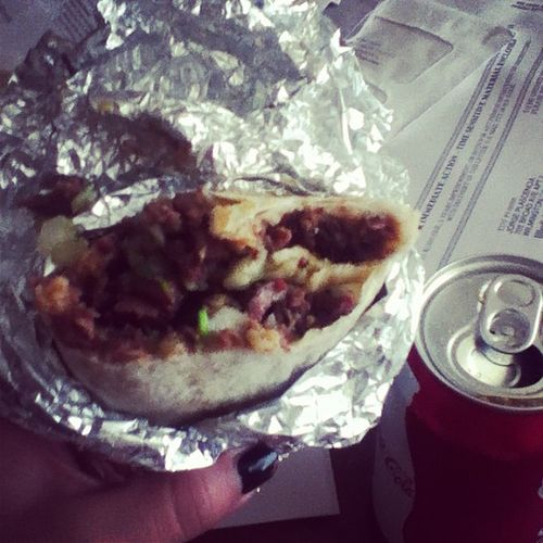 Thanks for the bomb burrito! ?@ _thomassss Yuuumm