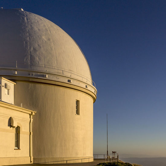 Lick Observatory 1:1 Architecture Blue Hour Lick Observatory Quadrat Science USA Architecture Astronomy Blue Building Exterior Built Structure Clear Sky Day Dome Lick Observatory Low Angle View Mount Hamilton Mountain No People Outdoors Sky EyeEmNewHere California Dreamin