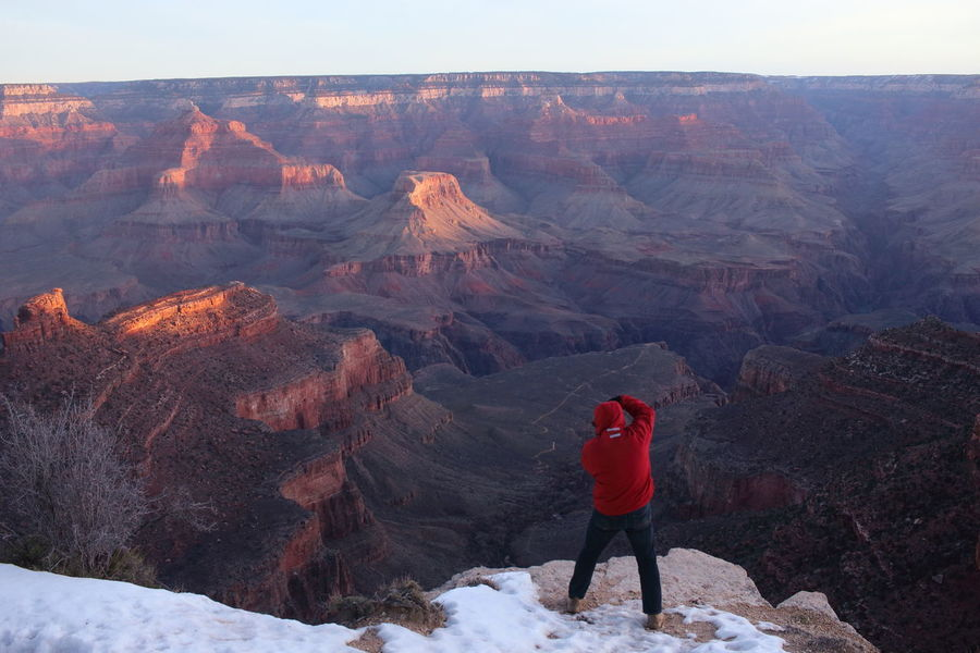 #Arizona #dangerousjobs #EyeEmBestShots #grandcanyon #photography #Usa Burning Doing Everything For The Best Shot EyeEm Gallery EyeEm Nature Lover Geology Landscape Mountain Rock Formation Sunrise