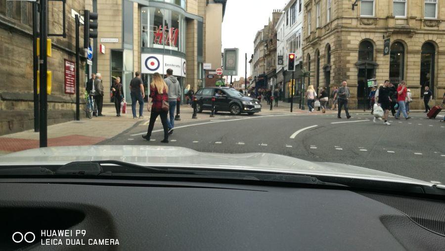 Idiot driving wrong way