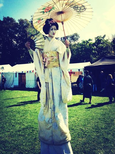 Will Adams Festival Geisha Portrait
