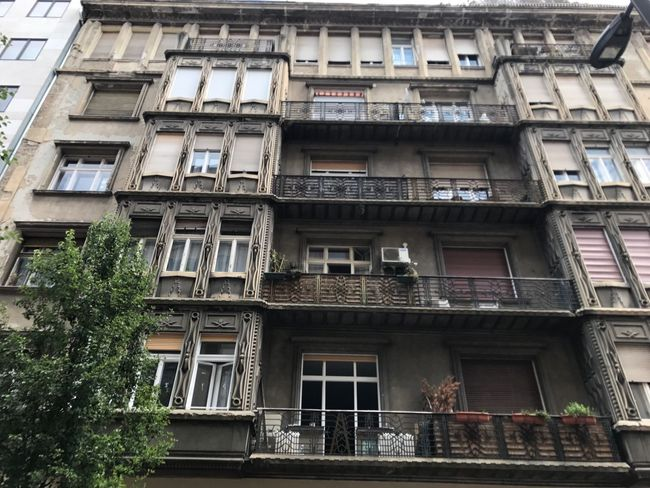 Architecture Building Exterior Window Balcony Built Structure Low Angle View Apartment City Outdoors No People Day