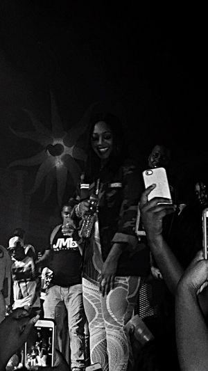 Night out Clubscene Concert Peopletogether Peopletogether2016 Eyeemmissionpeopletogether Artist Celebrityview Trina  Thebaddestchick Photogrpahyupclose PrettySmile EyeemPhotos Peoplehavingfuntogether