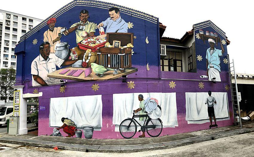 Street art from
