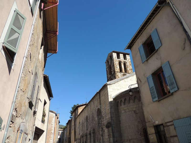 Architecture Bell Tower Blue Building Exterior Built Structure Church Clear Sky Day Exterior High Section History Low Angle View Medieval No People Old Town Outdoors Place Of Worship Religion Sky Spirituality Tall Tall - High Tower Window