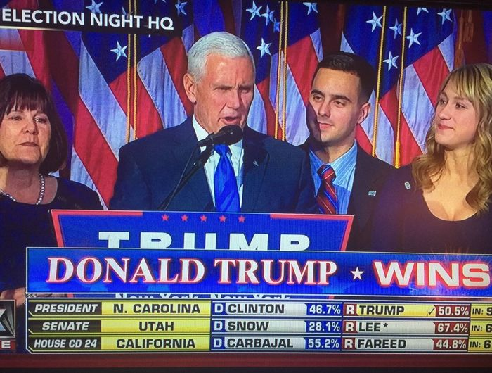 Snapped a pic from TV for Historical reasons. Politics People Election Businessman Indoors  Politician Donald Trump Mike Pence Us Flags Next President President Wins Presidential Election 2016 Eyeem Market EyeEm Family Lord Help Us  God Bless America Enjoy The New Normal Who What Where What Who Where Live For The Story Let's Go. Together.