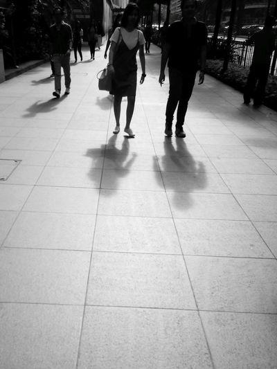 Walking Walk Walkway Walking Around The City  Walk Your Talk Shadow