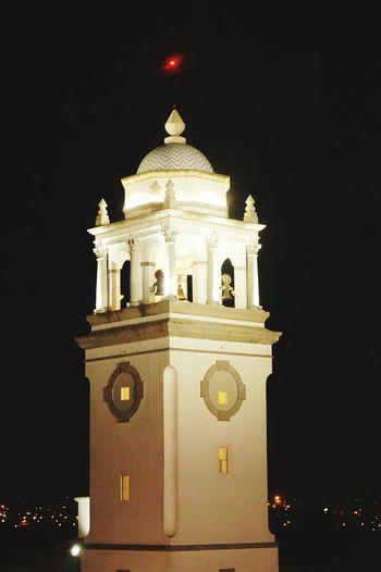 Architecture Illuminated Guatemalaimpresionante Nightshot🌙 Cayala Light In The Darkness