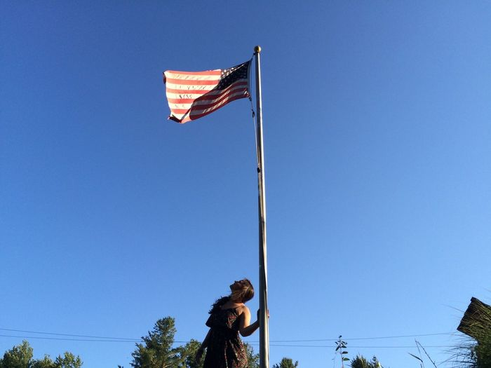 Up To The Sky Flag American Flag USA Weekend Happy