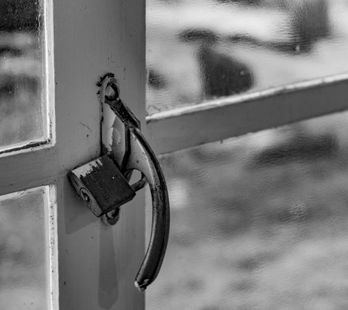 Pad lock on window. Closeup Window Eyemphotography Photography Tucson Arizona  Surreptitious Night Thephotographer Padlock