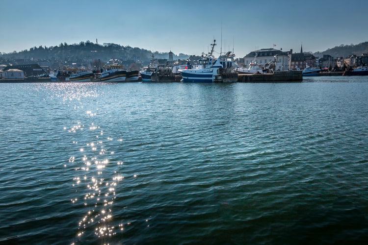 Fishing harbor,