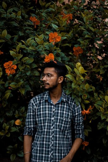 portrait photography Males  Men Young Men Handsome Leaves Growing Leaf Vein Autumn Fern Fall Maple Leaf Blooming Change Branch Dry Maple Tree Fallen Leaf Many Season  Frond Leaf Autumn Collection Maple Petal Plaid Fallen Plant Life A New Beginning