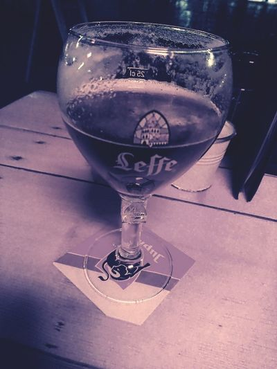 Day 7of the Blackandwhite Photography Challenge Start The Weekend with a Leffe Beer Time Drinking Glass