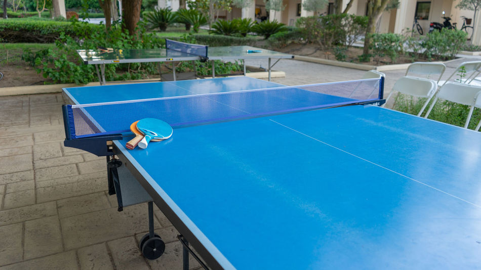 Architecture Ball Blue Day Leisure Activity Lifestyles Nature Net - Sports Equipment No People Outdoors Playing Pool Racket Sport Sunlight Swimming Pool Table Tennis Tennis Water