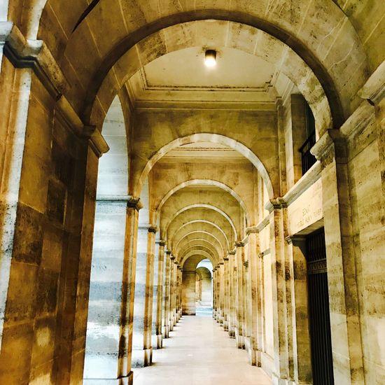 Architettura Architecture Corridor Built Structure Paris