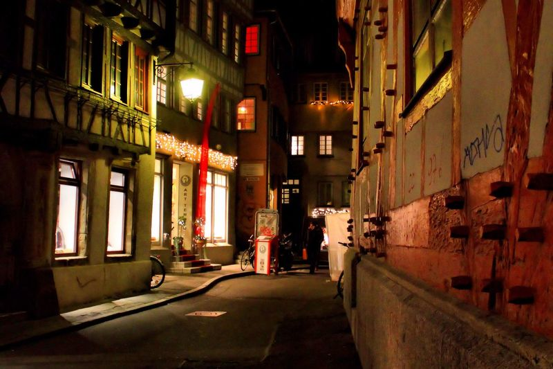 Tübingen At Night Tübingen Nightphotography Night Lights Night Photography Night View Lights In The Dark