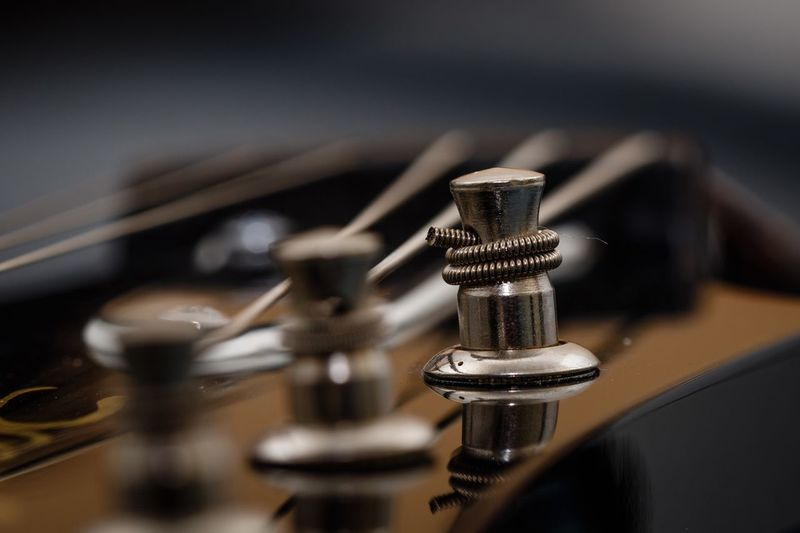 Close-up of metallic object