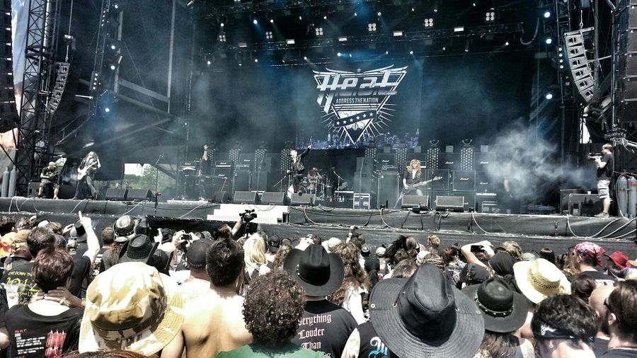 Awesome gig from H.E.A.T. at Bang Your Head Festival Hardrock Concert