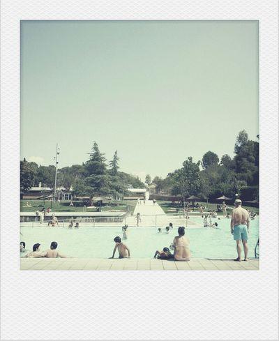 Looks like summer of 72. Fake Pola Swimming Vintage Summer