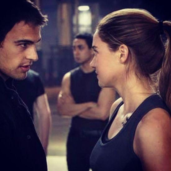 Tris and Tobias <3 Dauntless Tris Tobias Divergent