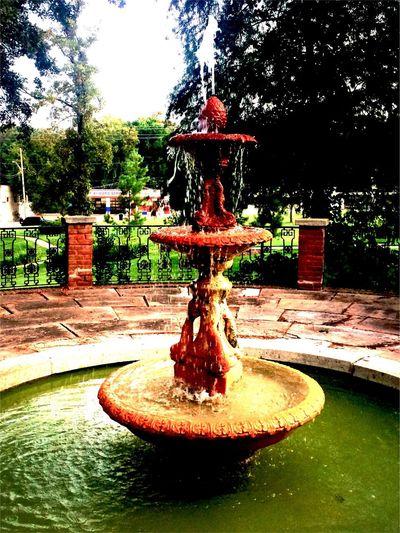 Fountain in Shreveport