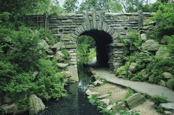 The Glen Span Arch, North Woods, Central Park, New York City Glen Span Arch Arches North Woods  CentralPark New York City Pathways Greenery Summertime In The Park