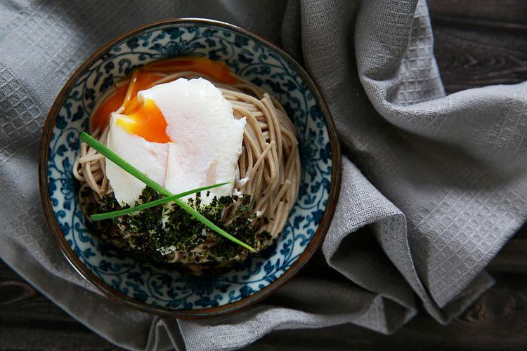 Egg soba ramen.