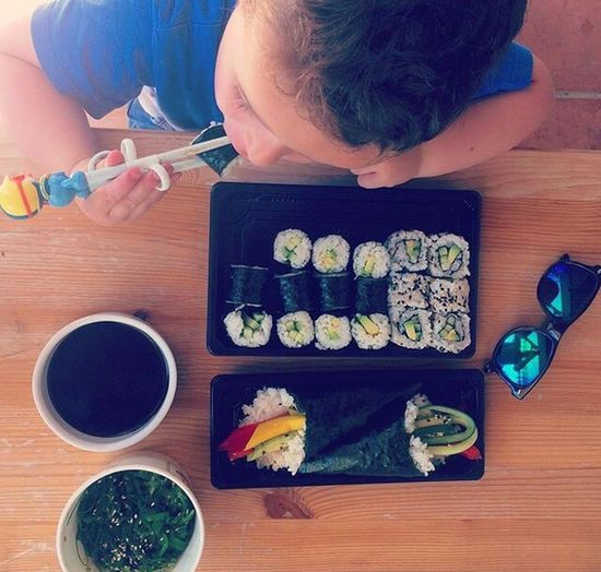 Show Us Your Takeaway! Sushi Baby Chopsticks Little Brother