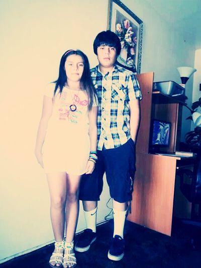Raymundo y Kimberly