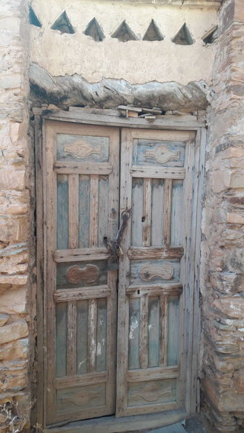 Gate to History Tafraoutmorocco Idaougnidif South Morocco Gate History Old-fashioned Old Buildings Morocco Countryside