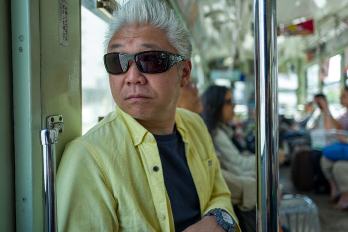 Photos from Kumamoto, Japan Adult Adults Only Commuter Day Japan KYUSHU Mode Of Transport One Person Outdoors Passenger People Public Transportation Sitting Subway Train Train - Vehicle Transportation