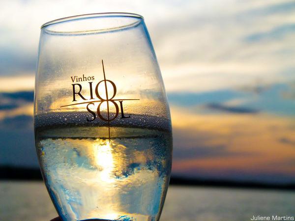 Rio Sol Vinícola Wine Glasses São Francisco River Sunset Nature Beautiful Nature Sky Beautiful Day River Colors