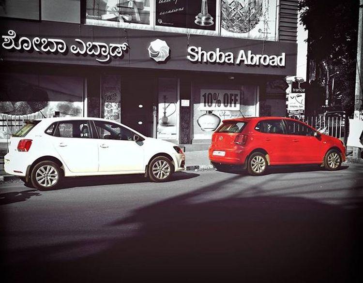 His & Hers :).Dasauto VW Volkswagen Vwlove Pologt Pologttsiclubofindia TSI Automotive PhonePhotography Asimphotography