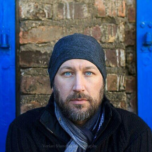 Shooting Portrait Blue Blue Eyes Man Verian.de
