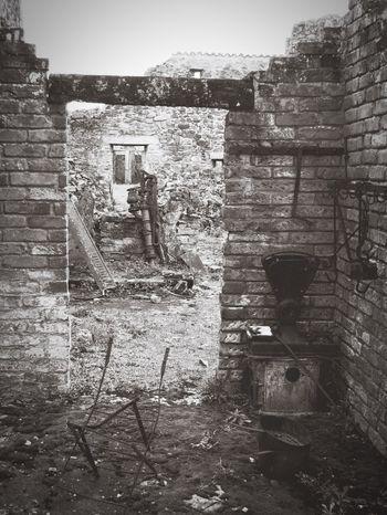 Destroyed building Oradour Sur Glane Ruined Destroyed Ruined Buildings War Bomb Damage Memorial Abandoned