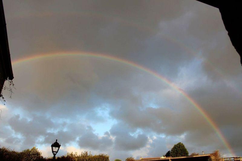 Rainbow Through