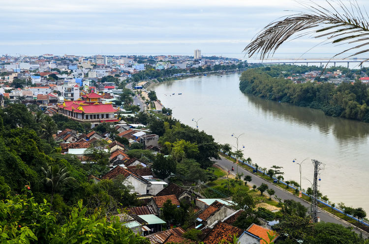 Motherland River Architecture Bridge - Man Made Structure Building Exterior Built Structure City City Life Cityscape Cloud - Sky Day High Angle View House No People Outdoors River River View Sky Town Travel Destinations Tree Water