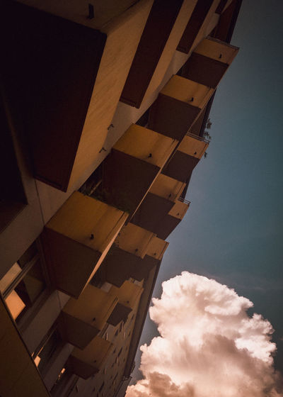 Abstract Architecture Building Exterior Built Structure Cloud - Sky IPhone SE Low Angle View No People
