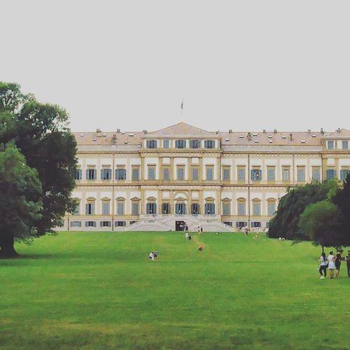 Villareale Villarealemonza Villarealedimonza Monza Monza Monzacity Architecture Building Exterior Built Structure Travel Destinations Façade Outdoors Queen Palace Palace Garden Park