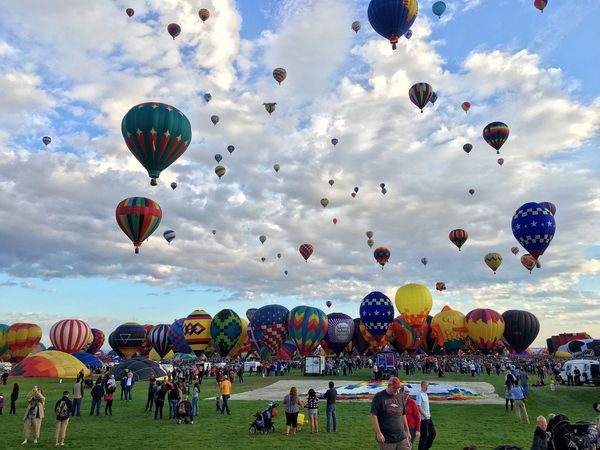 Albuquerque IPhoneography Balloons Newmexico ShotoniPhone6s Balloonfiesta  Igersabq HotAirABQ15 I Love My City Capture The Moment