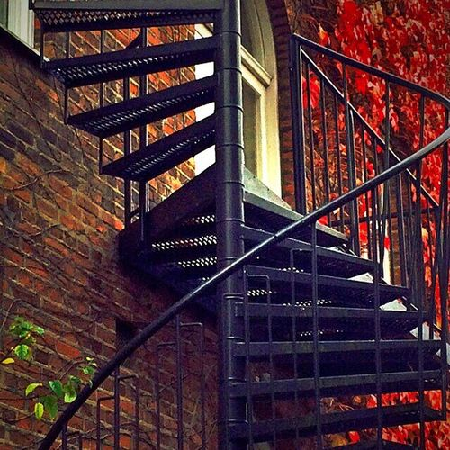 Winding Staircase Spiral Staircase Autumn Lund